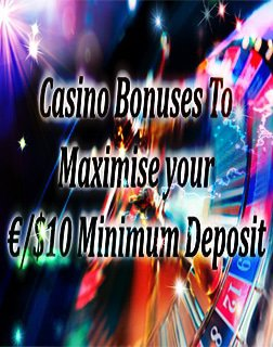 $10 minimum deposit onlinecasinoblast.com